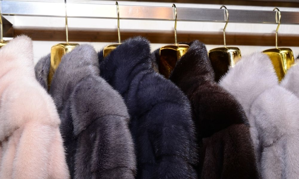 abrigos de piel